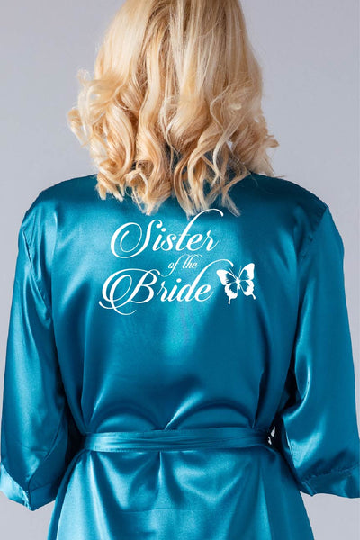 Butterfly Style - Sister of the Bride Robe