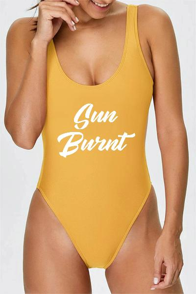 Swimsuit - Sun Burnt