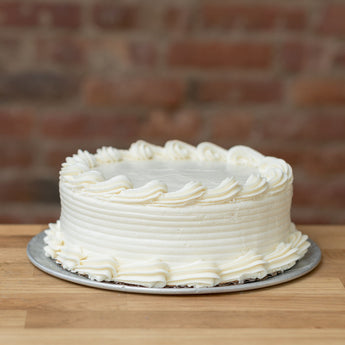 Coconut Cake with Vanilla Frosting