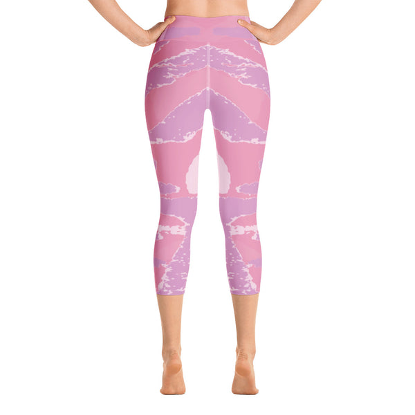 """Slide 3"" Capri Leggings"