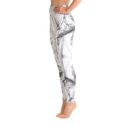 """Charcoal"" High Waisted Leggings - TryRight Store"