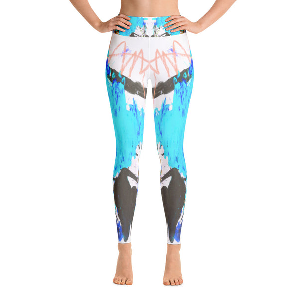 """Music"" High Waisted Workout Leggings - TryRight Store"