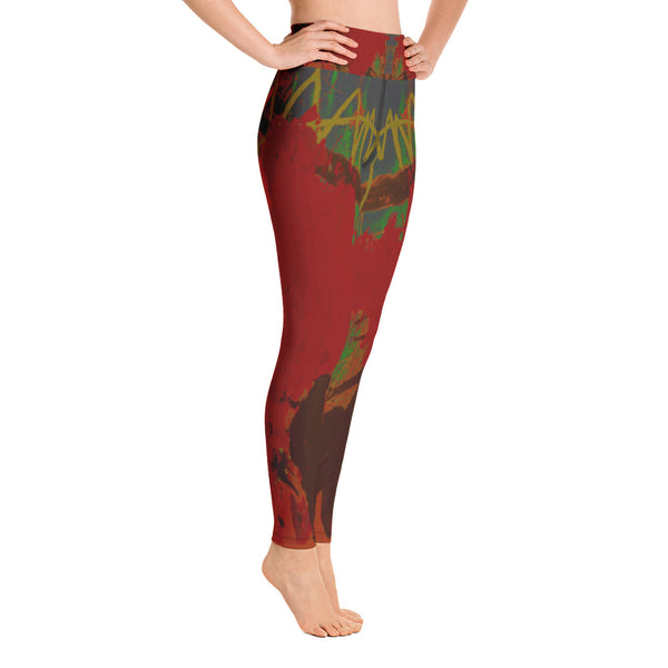 "Copy of ""Grove"" Yoga Leggings - TryRight Store"