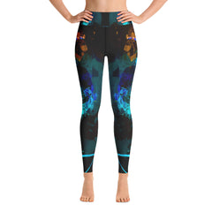 """Night"" High Waisted Leggings - TryRight Store"