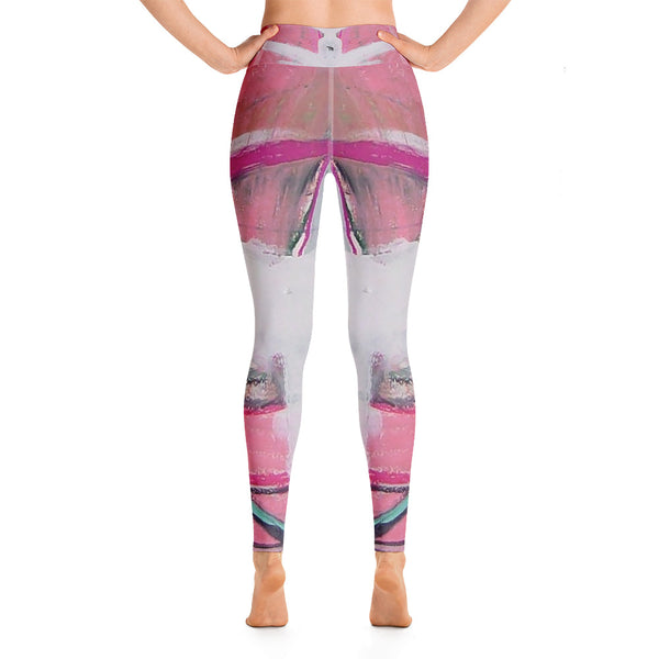 """Chatou"" High Waisted Leggings - TryRight Store"