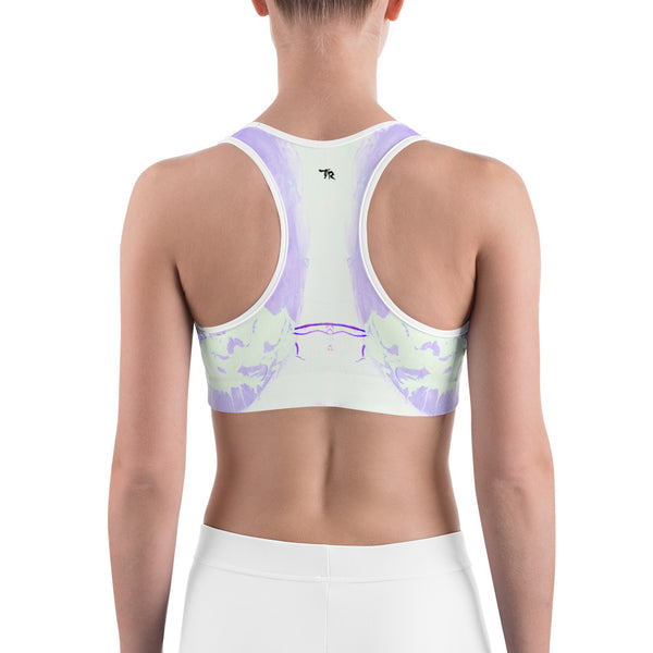 """Lilac"" Sports bra - TryRight Store"