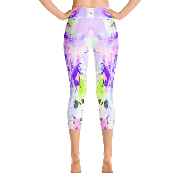 """Lilac"" High Waisted Capri - TryRight Store"
