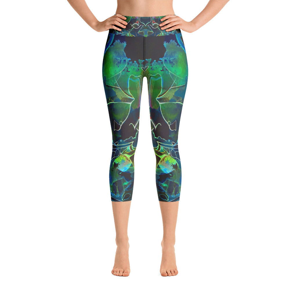 """Lous 2"" Capri Leggings - TryRight Store"