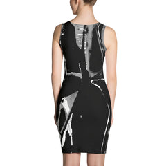'Train' Fitted Dress - TryRight Store