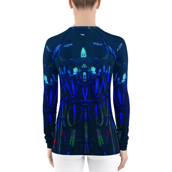 """Chalk2"" Women's Rash Guard - TryRight Store"