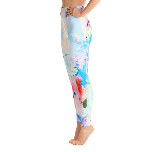 """Daisy"" High Waisted Workout Legging - TryRight Store"