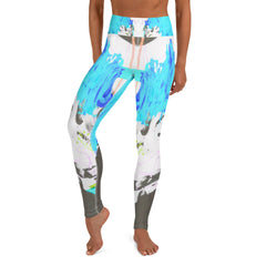 """Music2"" High Waisted Leggings - TryRight Store"