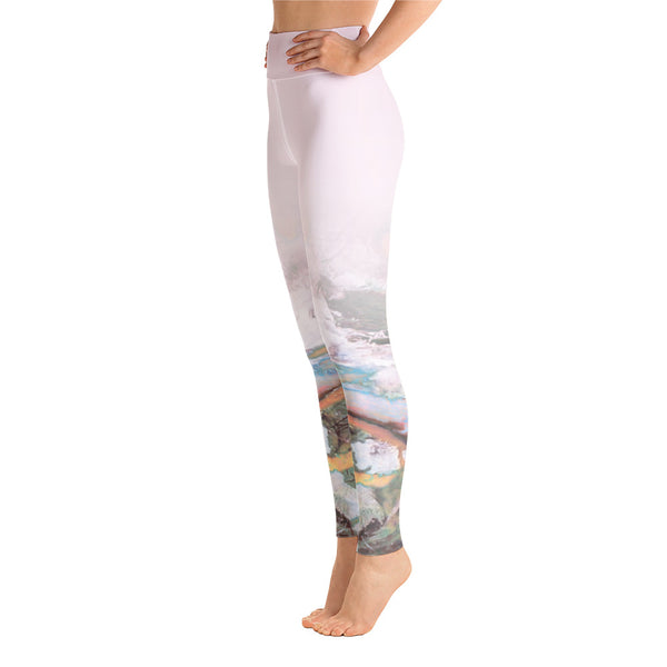 """Lotus 2' High Waisted Leggings - TryRight Store"