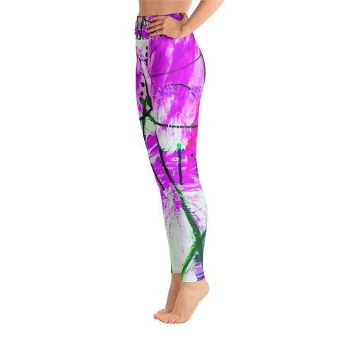 """Dory"" High Waisted Leggings - TryRight Store"