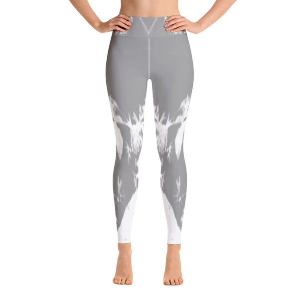 """Sliver"" High Waisted Leggings - TryRight Store"