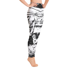 """Desert White"" High Waisted Leggings - TryRight Store"