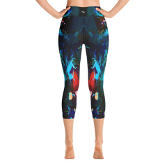"""Lily"" High Waisted Capri Leggings - TryRight Store"