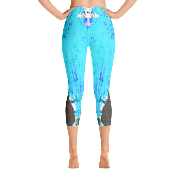 """Music"" High Waisted Capri - TryRight Store"