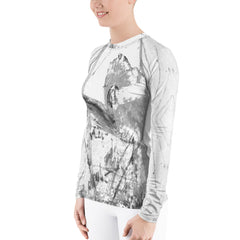 """Filter1""Women's Rash Guard - TryRight Store"