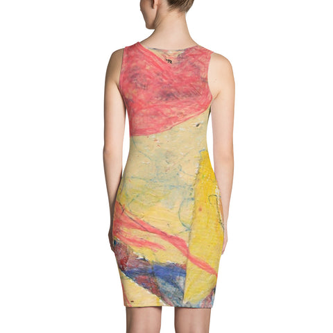 'Surf' Fitted Dress - TryRight Store