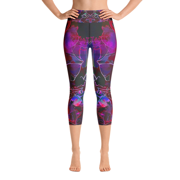 """Lous"" High Waisted Capri Leggings - TryRight Store"