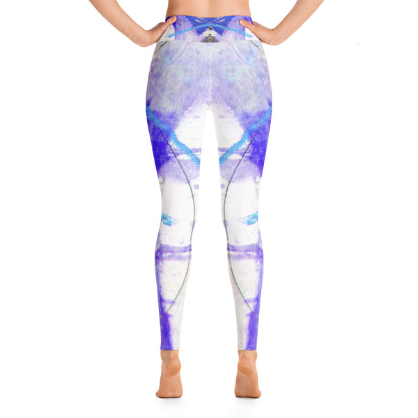 """Seaside"" High Waisted Leggings - TryRight Store"