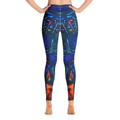 """Chalk"" High Waisted Workout Legging - TryRight Store"