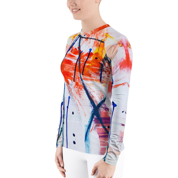 """Taylor"" Women's Rash Guard - TryRight Store"