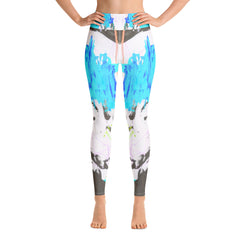 """Music2.0"" High Waisted Leggings - TryRight Store"