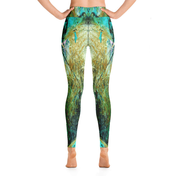 """Sadle"" High Waisted Leggings - TryRight Store"