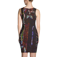 'Sliver' Fitted Dress - TryRight Store