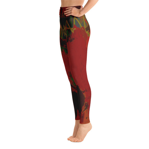 """Cecil"" High Waisted Leggings - TryRight Store"