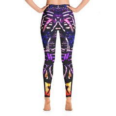 """Chalk-2"" High Waisted Leggings - TryRight Store"