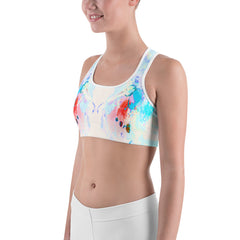 """Daisy"" Sports bra - TryRight Store"