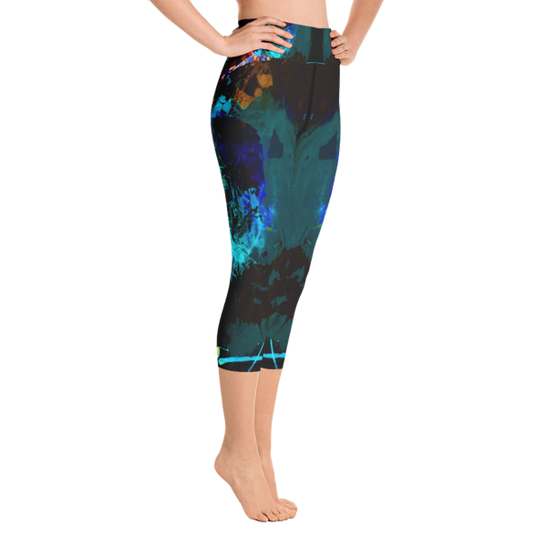 """Lily"" High Waisted Capri - TryRight Store"