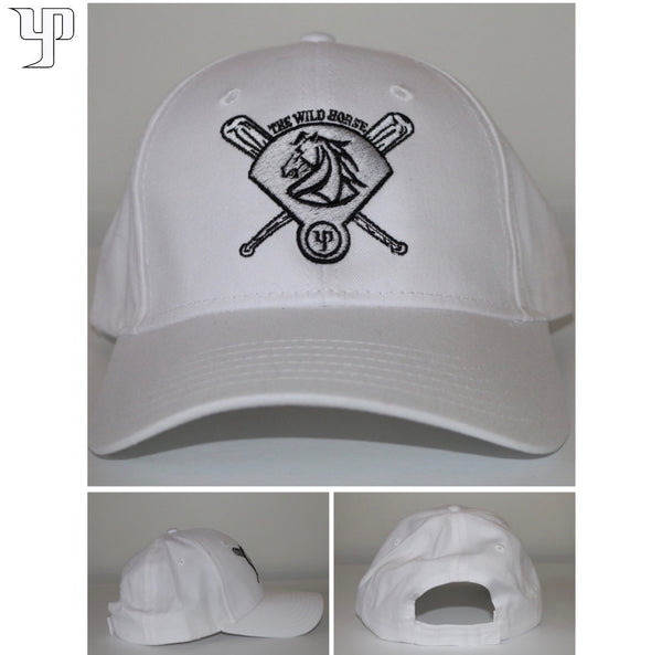 The Wild Horse Cap (Dad Hat) - White