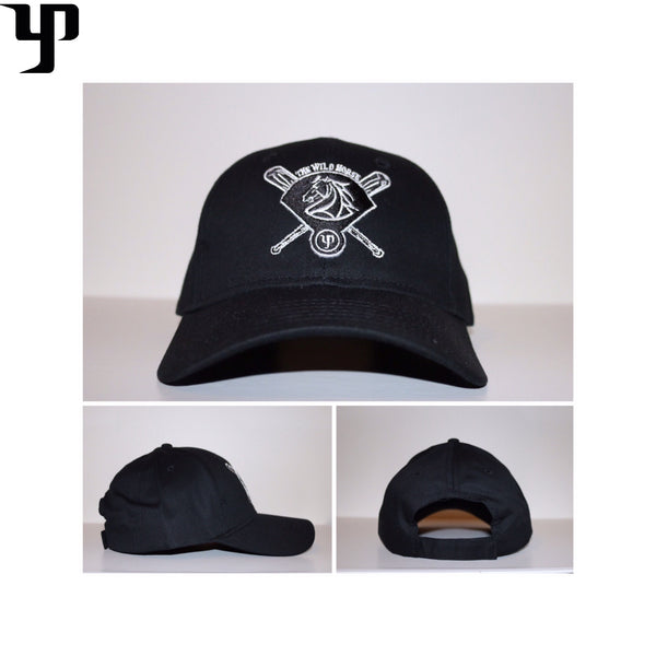 The Wild Horse Cap (Dad Hat) - Black