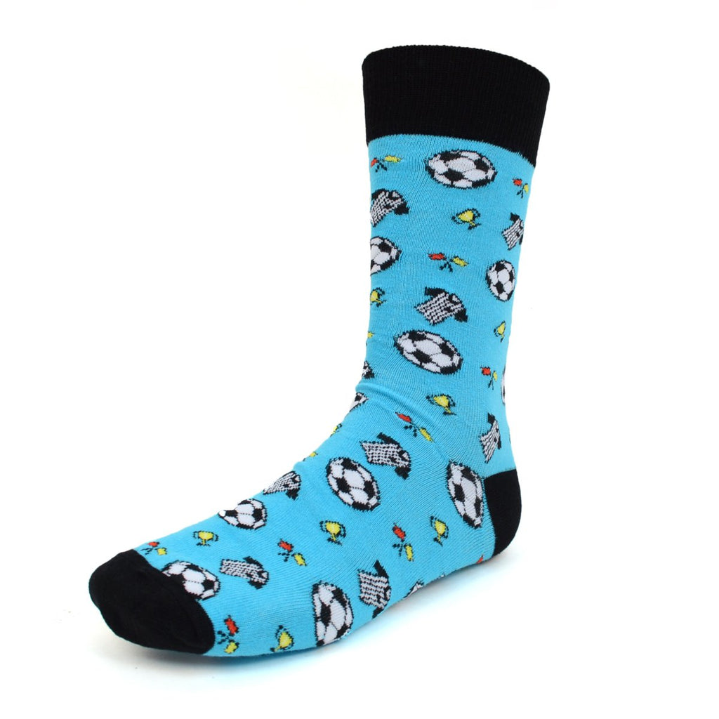 Referee Blue Dress Socks