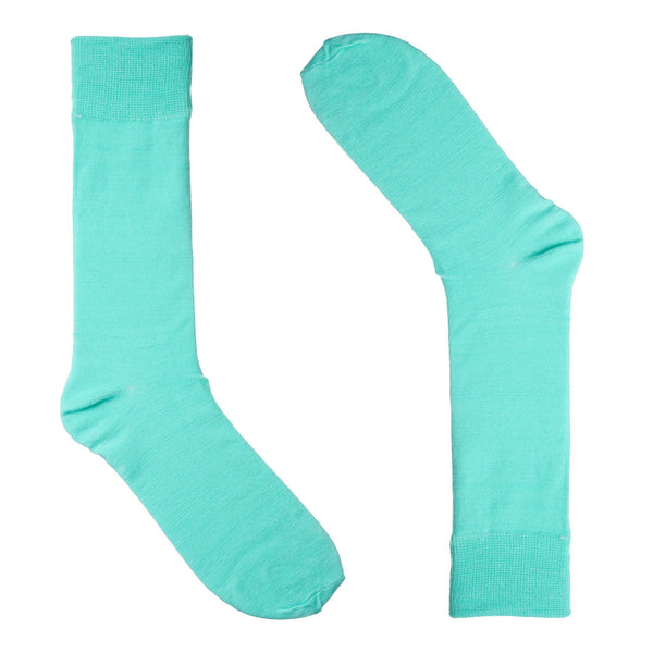 Minty Dress Socks