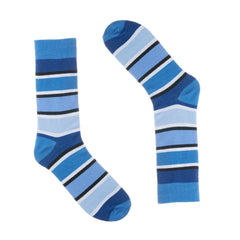 Ivory + Mason 3 Pair Dress Socks for Men - Colorful - Size 10-13