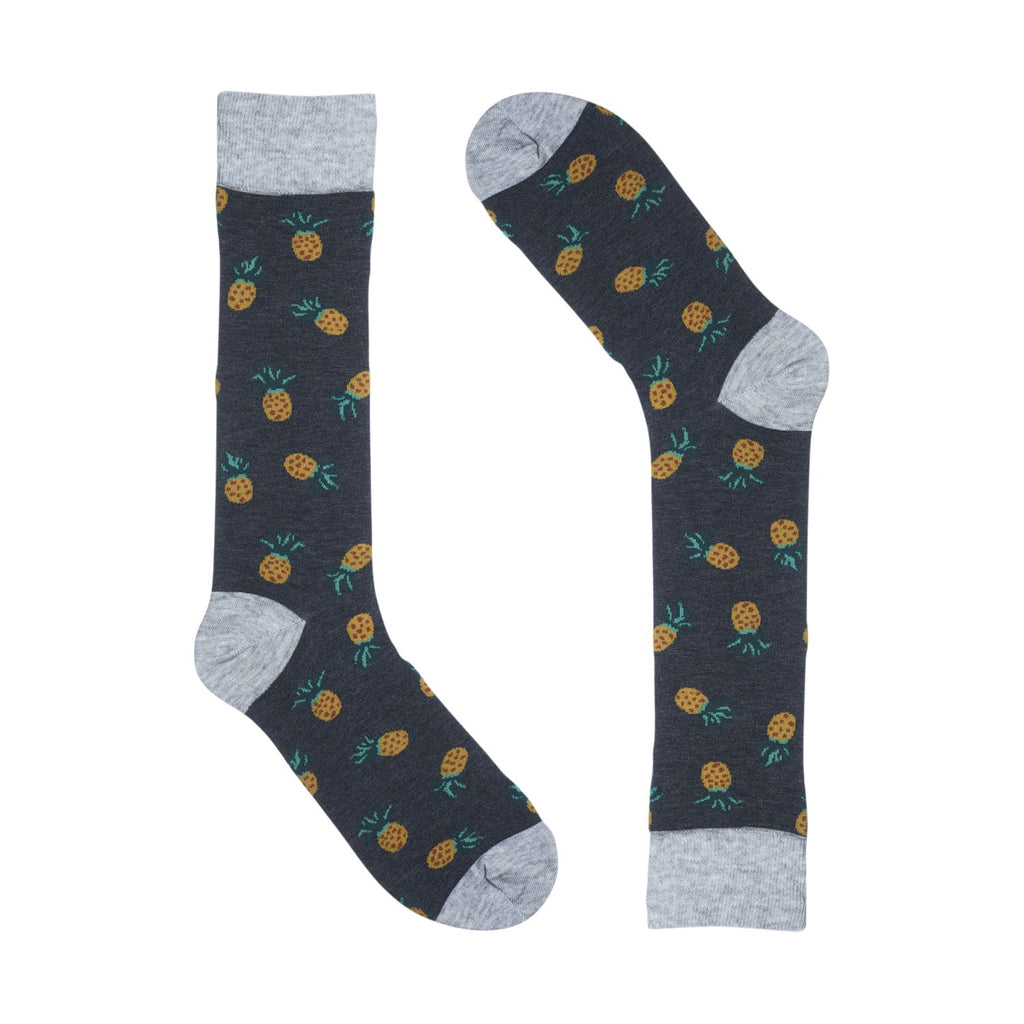 Pineapple Dark Grey Dress SOCKS