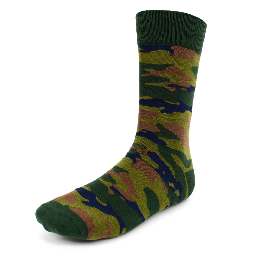 Camouflage Dress Socks