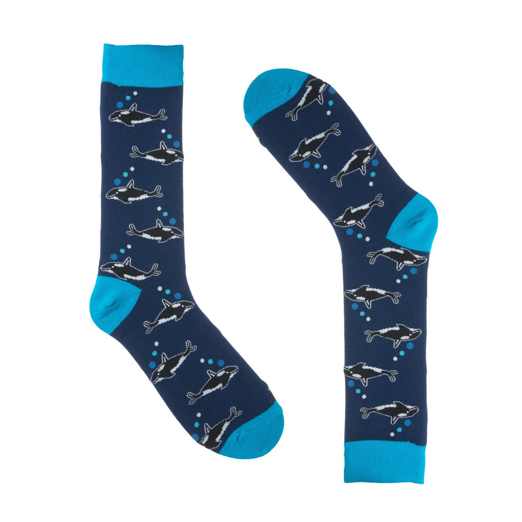 Killer Whale Dress Socks