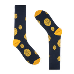 Basketball Blue Dress Socks