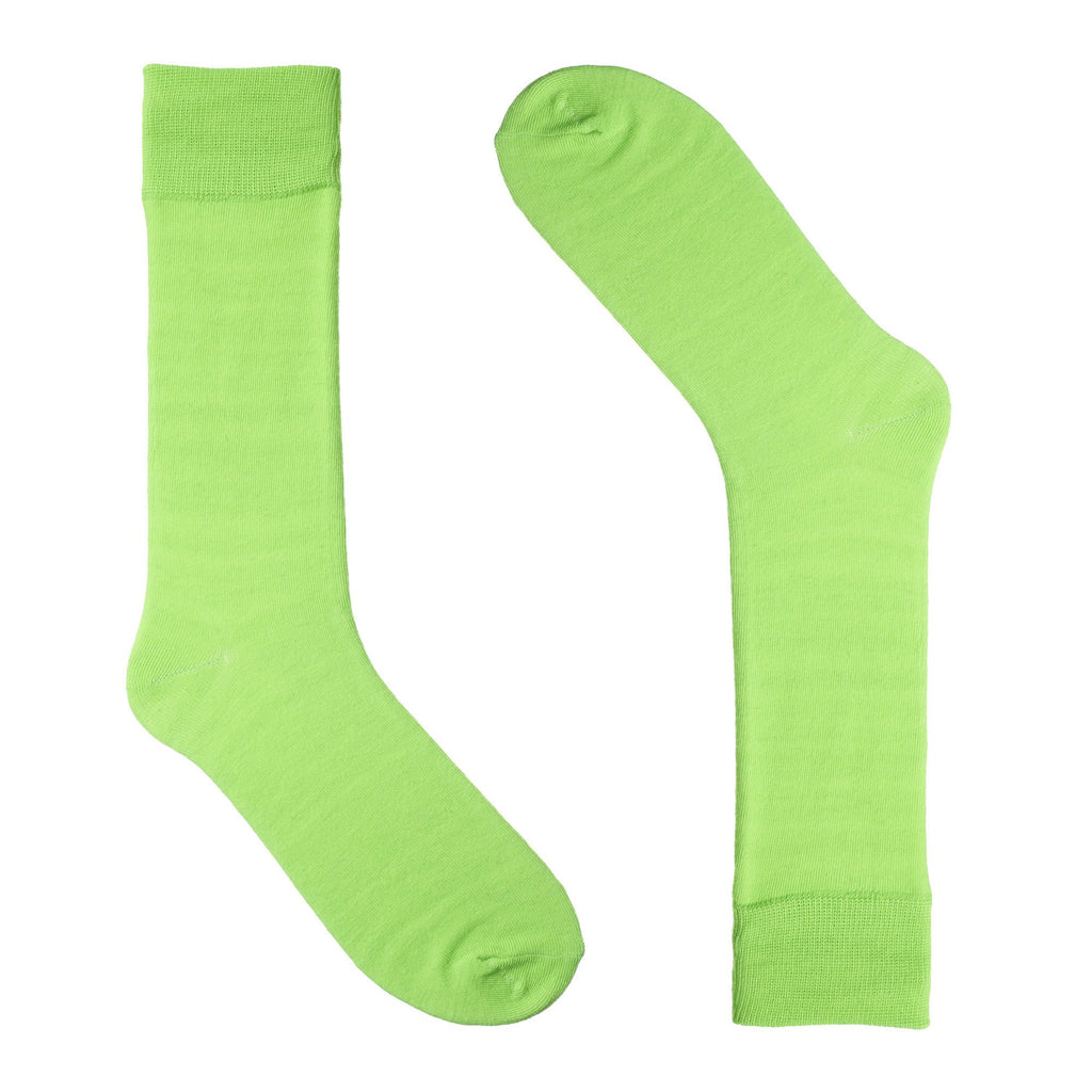 Bright Green Dress Socks