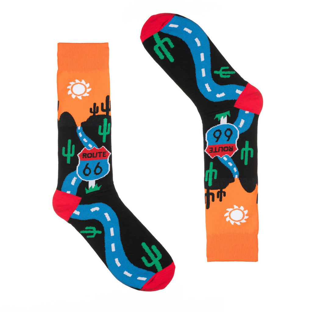 Route 66 Dress Socks