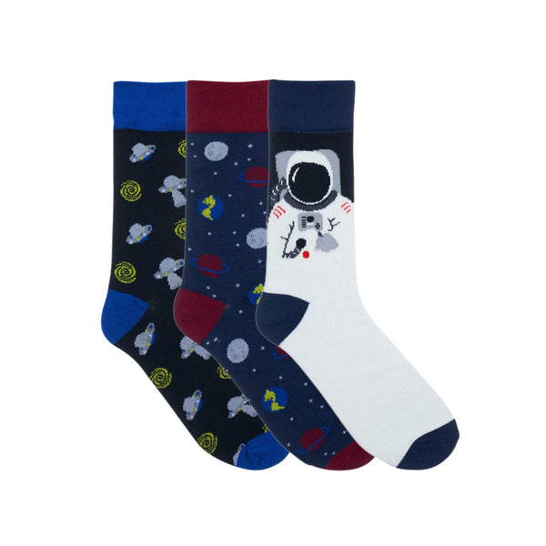 Outer Space Dress Socks