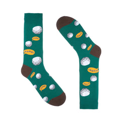 Green Golf Dress Socks