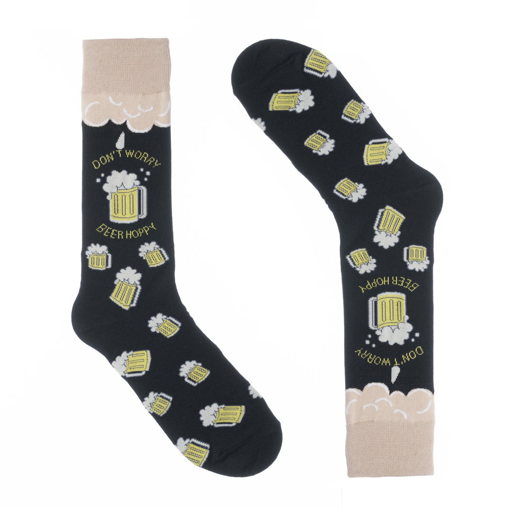 Beer Hoppy Dress Socks