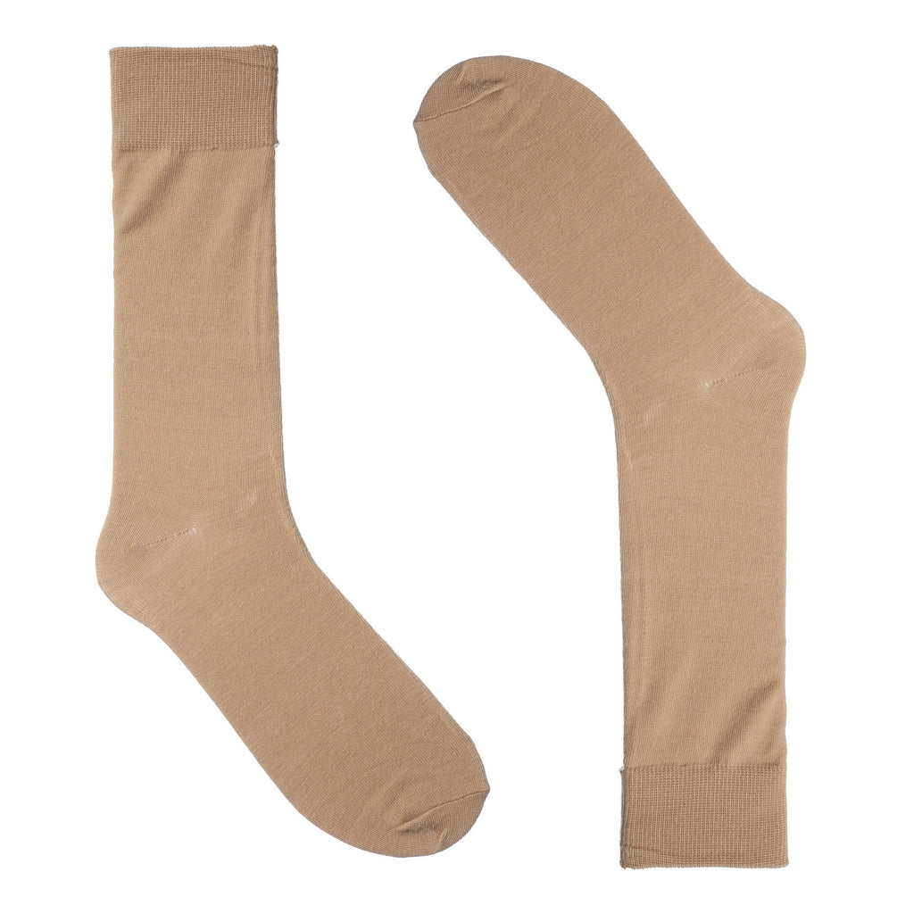 Khaki Dress Socks